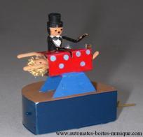 Vente automate de magie miniaturis automate truqu - Explication tour de magie femme coupee en deux ...