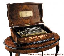 vente bo te musique reuge collection 1865 bo te musique cartel anastasia avec 6. Black Bedroom Furniture Sets. Home Design Ideas