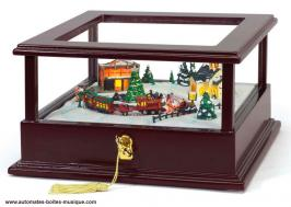 vente bo te musique anim e de no l mr christmas. Black Bedroom Furniture Sets. Home Design Ideas