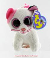 "Jouets peluches Beanie Boo's de petite taille Jouet peluche Beanie Boo's : porte-clefs Beanie Boo's ""Muffin le chat"""