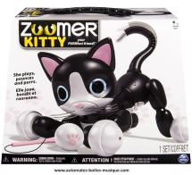 Robots et objets volants Chat robot Zoomer Kitty : chat robot Kitty qui ronronne quand on le caresse