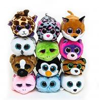Beanie boo's Jouet peluche empilable Teeny TY par TY Warner : jouet Teeny TY Slippery le phoque