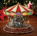 "Carrousel musical miniature Mr Christmas : carrousel musical Mr Christmas ""Marquee grand Carousel"""