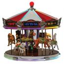 "Carrousel musical miniature Mr Christmas : carrousel musical Mr Christmas ""World's fair 1939"""