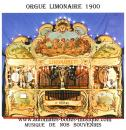 "CD audio d'instruments de musique mécanique : CD ""L'orgue limonaire 1900 vol 1"""